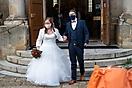 Spalier zur Hochzeit Stephi und Marius